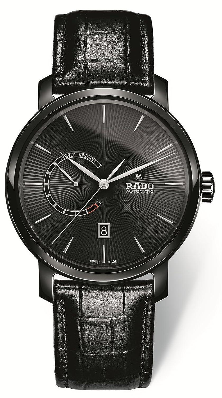 [ラドー]RADO 腕時計 DiaMaster Power Reserve(ダイヤマスター パワーリザーブ) 自動巻き機械式(80時間パワーリザーブ) セラミックスケース  R14137156 メンズ 【正規輸入品】 B078HT31TV