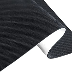 Non Slip Furniture Pads/Silicone Rubber Grippers Self Adhesive Noise-dampening Furniture Feet Floor Protectors(Black)