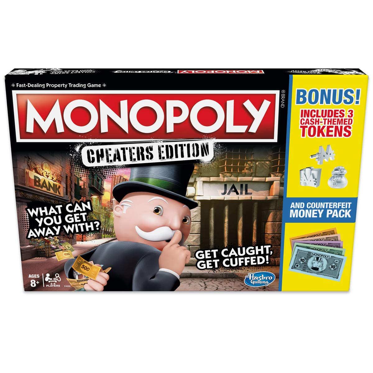 Monopoly Game: Cheaters Edition Board Game Value Pack Bonus B07KPLFL1H