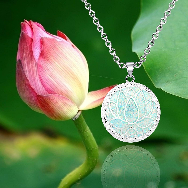 smoky quartz /& Lotus flower pendant LOTUS HOOP Earrings with boulder opal