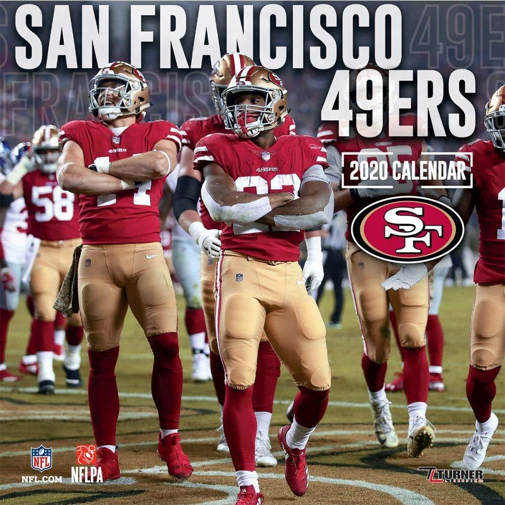 San Francisco 49ers 2020 Calendar