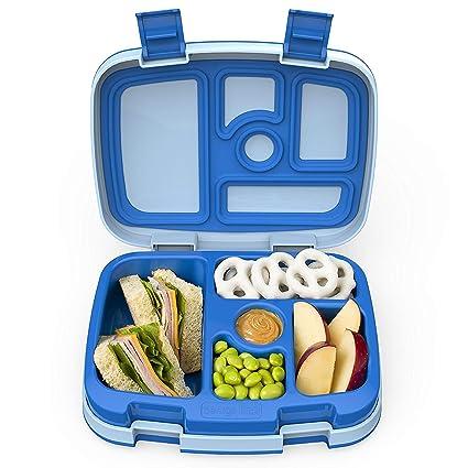 Para el almuerzo para niños Bentgo caja de almacenaje con 5 compartimentos, fugas-proof