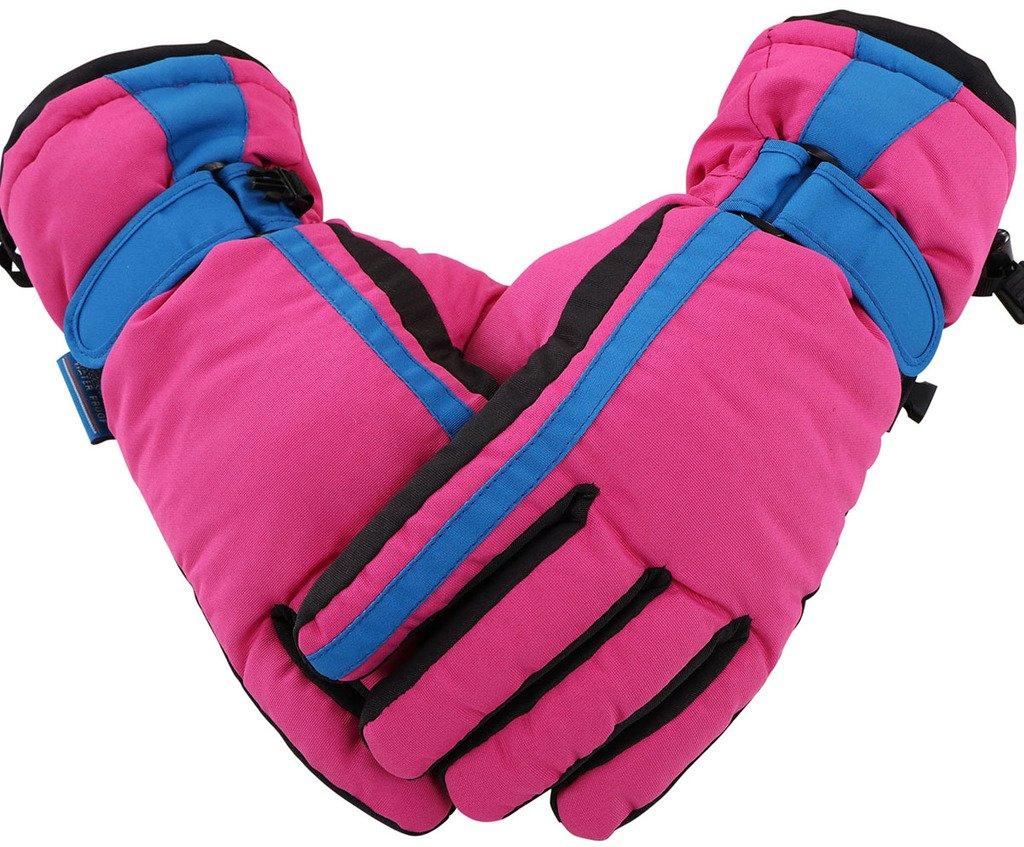 EPYA Women's Winter Waterproof Outdoor Snowboard Ski Gloves
