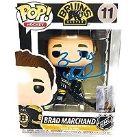 $99 » Brad Marchand Boston Bruins signed Funko Pop figure