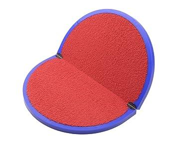 FitFeet - Alfombrilla reposapiés para vestuario art. FIT1 Base BLU interno ROSSO Talla:40,5 X 32,5: Amazon.es: Deportes y aire libre