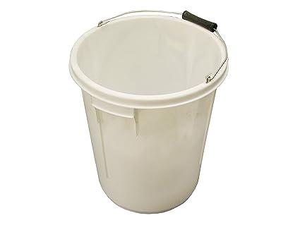 Faithfull 5 Gallon 25L Bucket - White  Amazon.co.uk  DIY   Tools f0183c5eb37