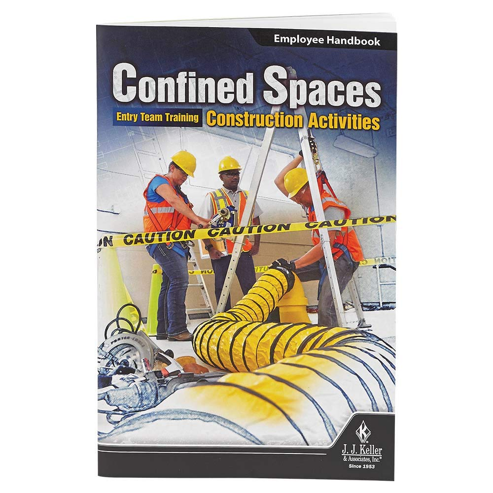 Confined Spaces: Entry Team Training Construction Activities English Training Video Book - J. J. Keller - Meet Requirements of OSHA Standard regarding Construction Activities in confined Spaces