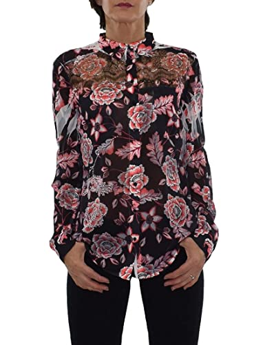 CAMISA ROSA CON TRANSPARENCIAS REBEL DOLL «CLOUIS»