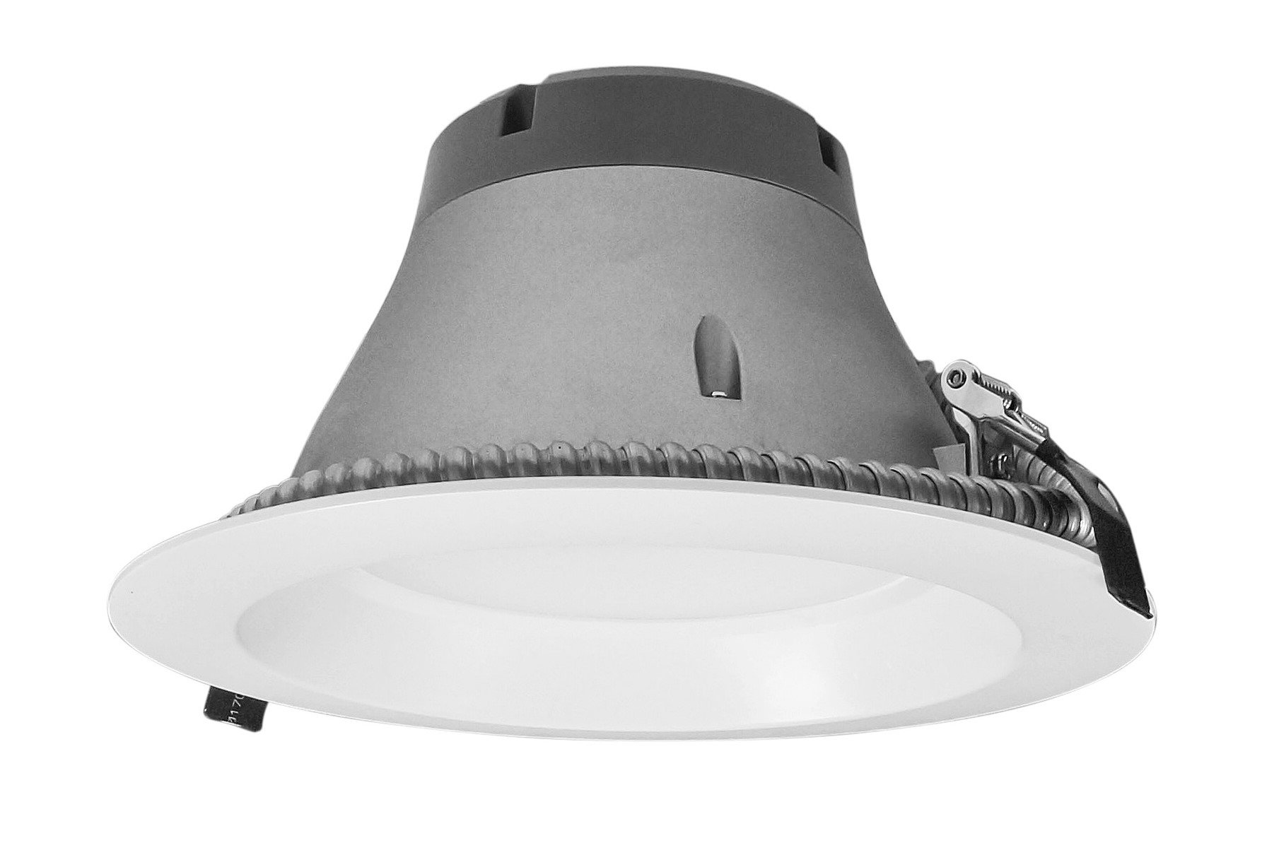 NICOR Lighting Dimmable 3500K Commercial LED Recessed Downlight Retrofit Kit, White (CLR8-10-UNV-35K-WH)