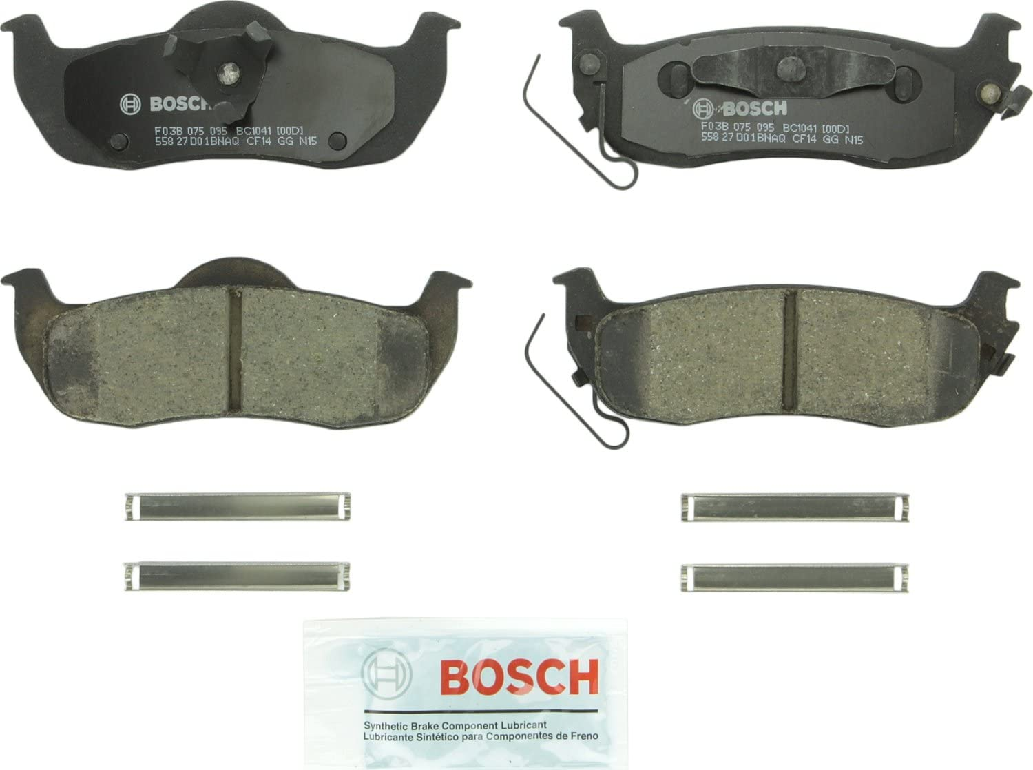 Brembo Front and Rear Ceramic Disc Brake Pads  for Infiniti /& Nissan