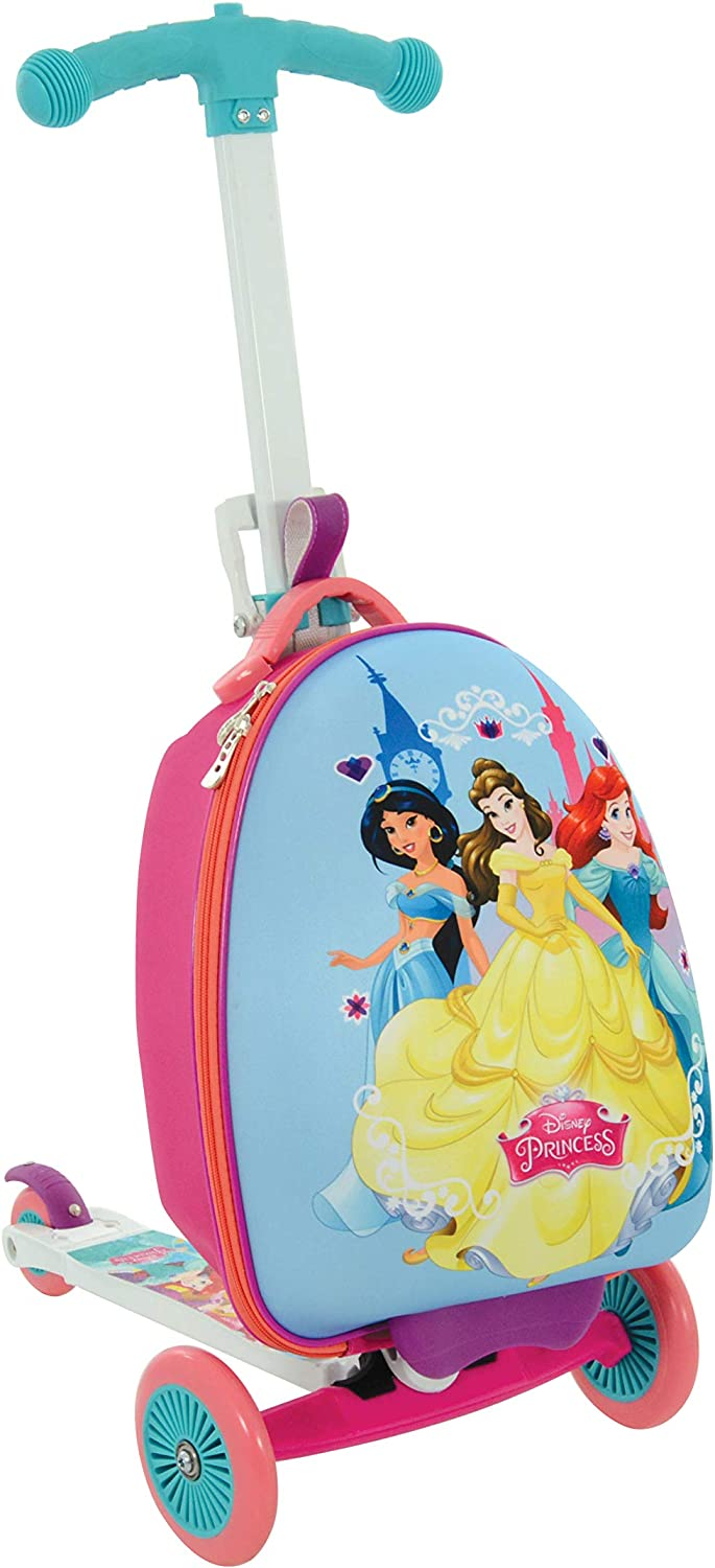 Disney Princess M14377-01 Scootin - Maleta, Color Morado