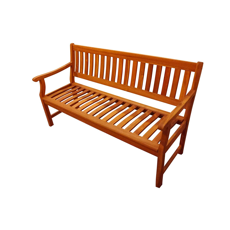 SAM Gartenbank, New Jersey 3-Sitzer 157 cm, akazie, 157 x 60,5 x 92 cm, 55244452