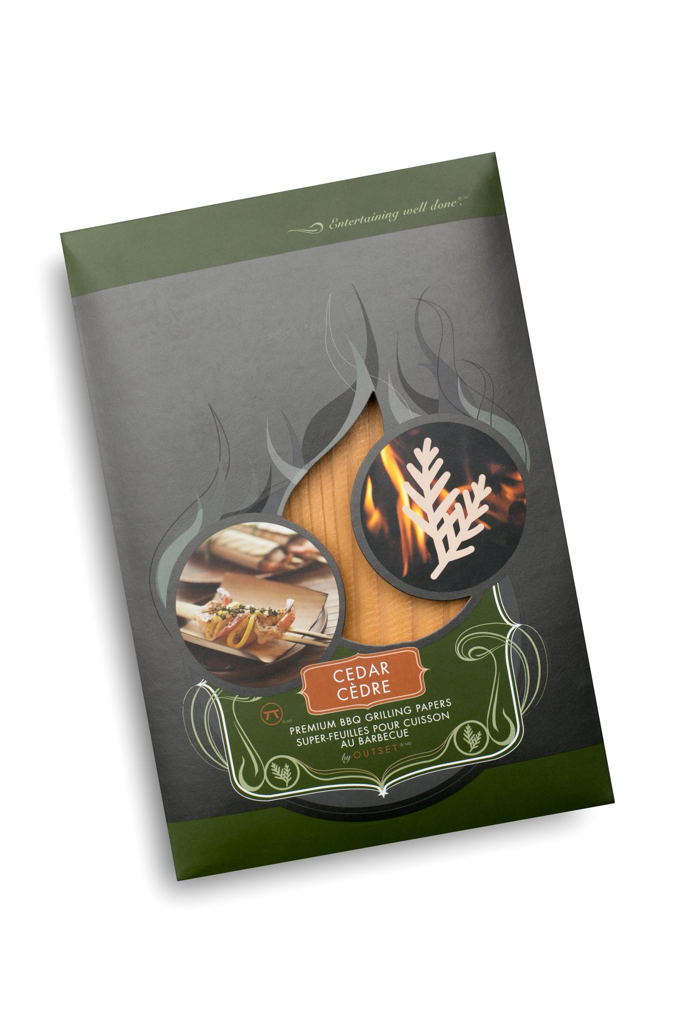 Outset F751 Cedar Grilling Papers, Set of 6 by Outset (Image #4)