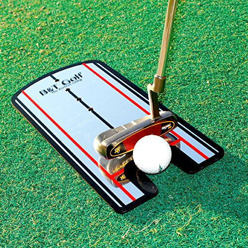 Golf Putting Alignment Mirror Training Aid - Practice Your Putting Alignment Tool by B&T Golf (Image #7)