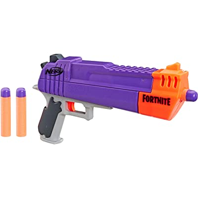 NERF Fortnite HC-E Mega Dart Blaster -- Includes 3 Official Mega Fortnite Darts -- for Youth, Teens, Adults: Toys & Games