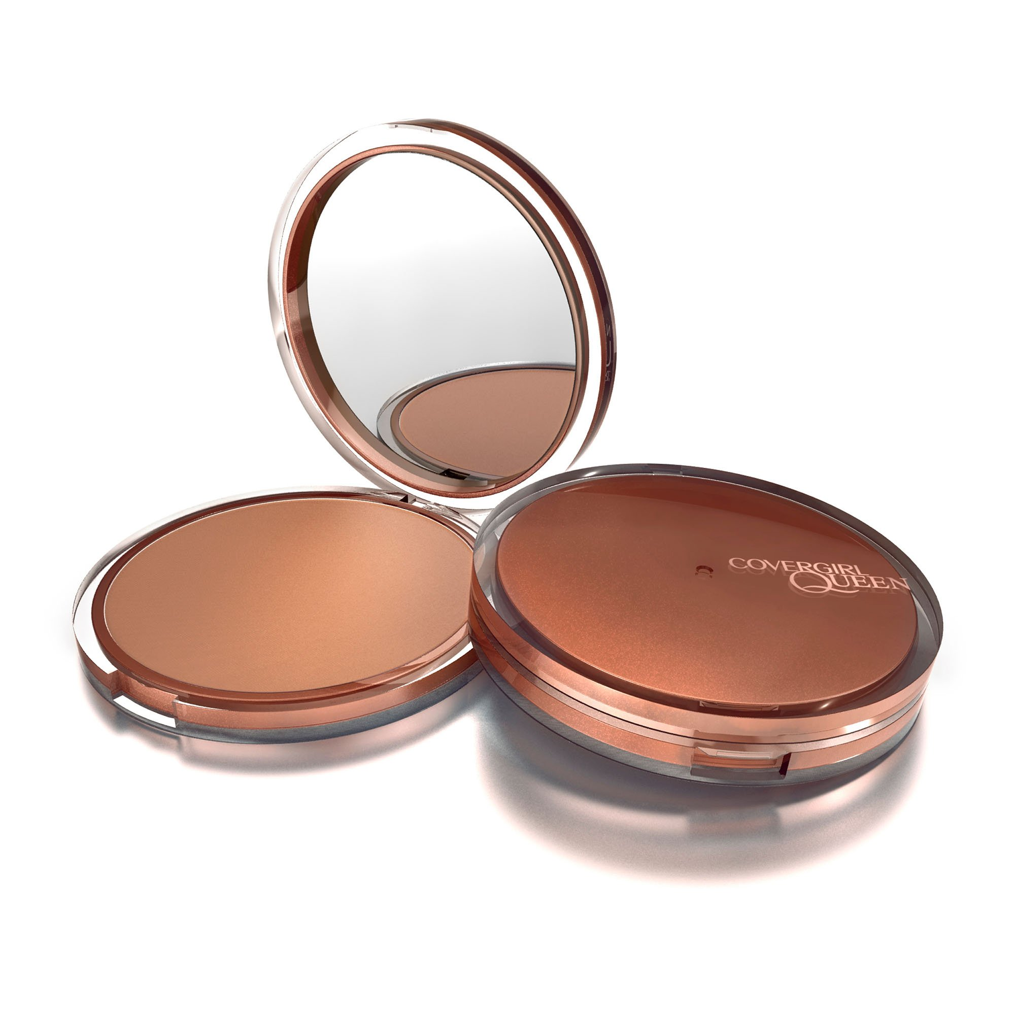 COVERGIRL Queen Natural Hue Mineral Bronzer Light Bronze.39 oz (packaging may vary)