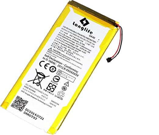 Amazon.com: LONGLIFE Battery Replacement For GA40 SNN5970A 3000mAh 3.8V G4 Plus XT1625 Batería de repuesto: Cell Phones & Accessories