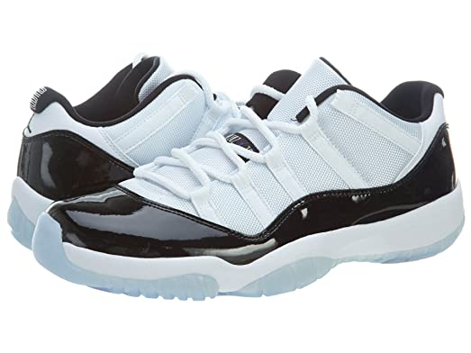 c7d9f11f14b shop nike mens air jordan 11 retro low quotconcordquot white black dark  2f01c 20429