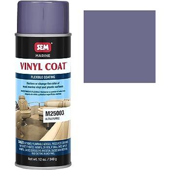sem m25003 marine ultra purple vinyl coat vinyl and plastic repair coating for. Black Bedroom Furniture Sets. Home Design Ideas