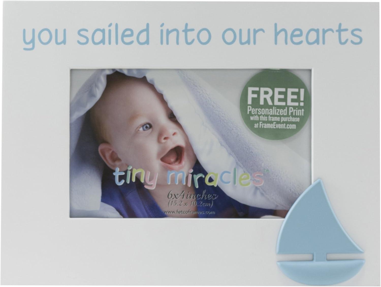 Fetco Home Décor Titanic You Sailed Into Our Hearts Decorative Frame, 6