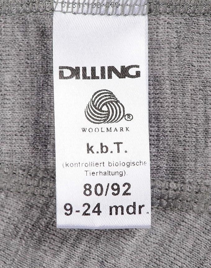 100/% BIO-Merinowolle NEU DILLING Schlupfmütze in Rippstrick für Babys karamell