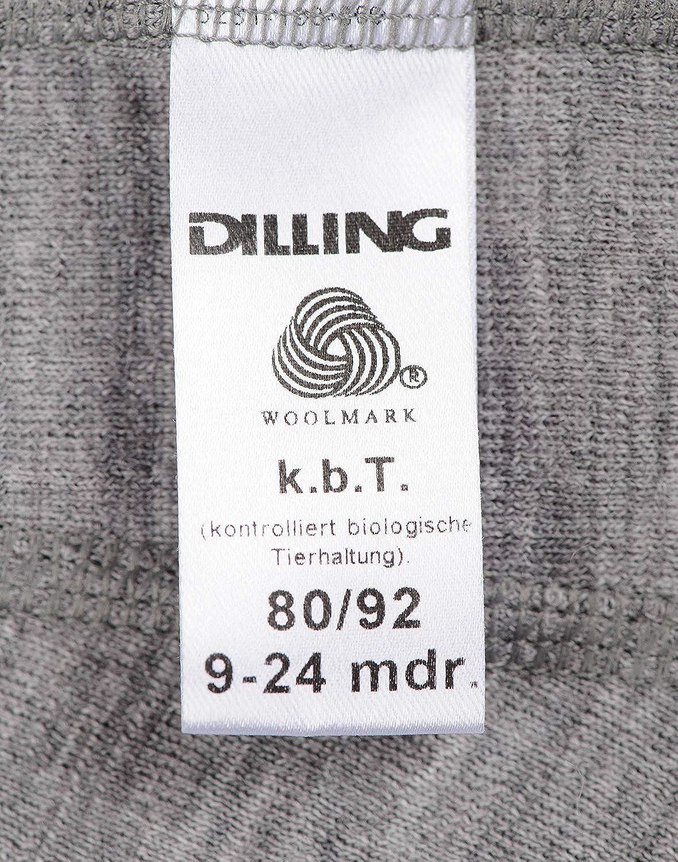 Dilling Merino Schlupfm/ütze f/ür Babys und Kinder 100/% Bio