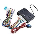 Rupse - Système de Verrouillage Centralisé avec 2 Télécomman à Distance et Indicateur LED Universel Pour Auto Voiture