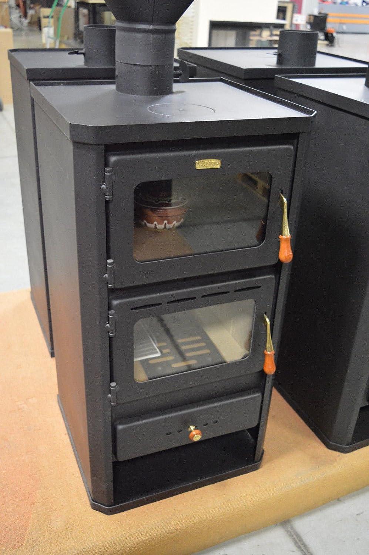 Estufa de leña, chimenea para el hogar, 12 kw, de Prity FM: Amazon.es: Bricolaje y herramientas