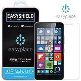 Easyplace en vidrio templado de protector de pantalla para Nokia Lumia 640 XL, adherente, transparente