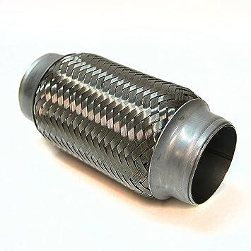 45 X 150mm Flexrohr Flexibles Auspuff Rohr Universal