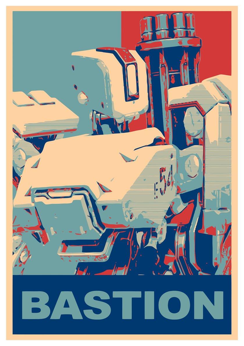 Amazon.com: Poster Overwatch \