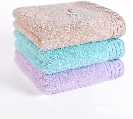 DHG 3 Toallas Suaves absorbentes de Algodón para el hogar, Toalla ...