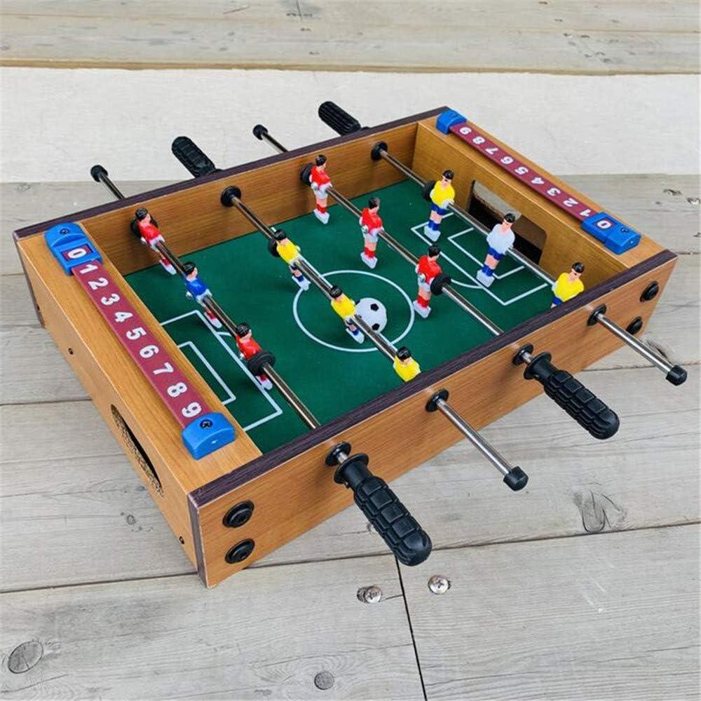 ZSDGY Mini Mesa de fútbol Sala de Madera, máquina de futbolín, 4 billares Futbolines: Amazon.es: Hogar