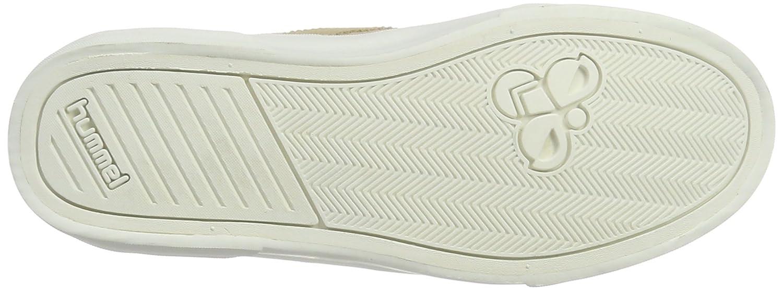 Hummel Wildleder Sneaker Unisex – Stockholm Suede Suede Suede Niedrig – Freizeitschuh Div. Farben - Halbschuh Einfarbig - Schuh für Sommer – Turnschuh Vulcanized Style Beige (Nomad) 60ee67