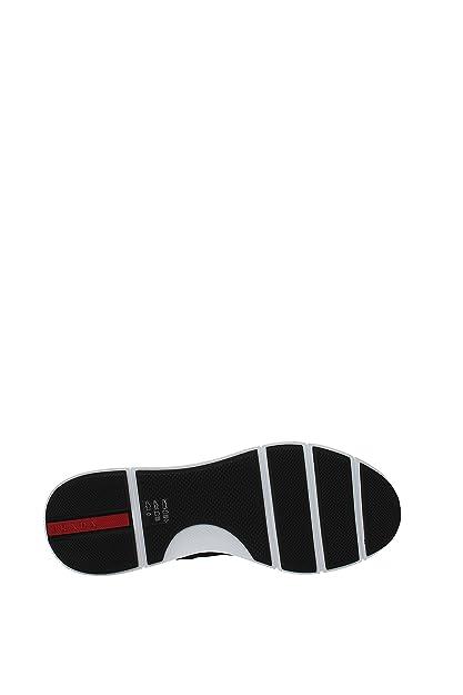 Prada Sneakers Herren Nylon (4E3148NERO) 41 EU: