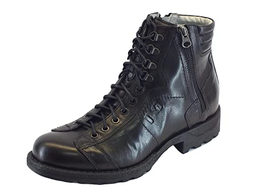 9f245c8281 Nero Giardini A705490u Twist Nero - Botas de Piel para hombre Negro Size   43  Amazon.es  Zapatos y complementos