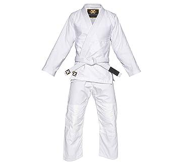 Base-X Ultra Lightweight BJJ Jiu Jitsu Gi w/White Belt