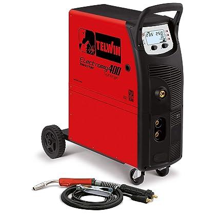 Telwin Electronic romig 400 synergic ATC Mig/Mag/Wig/MMA Multi Proceso sudor