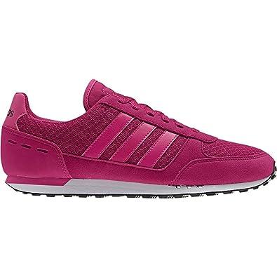 detailed look 9b18f f21de adidas Damen City Racer W Gymnastikschuhe, Core Shock PinkMystery Blue  Amazon.de Schuhe  Handtaschen