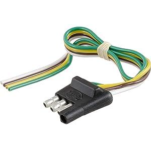 Amazon.com: CURT 57245 7-Wire RV Blade Vehicle 4-Way Flat ... on