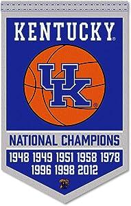 Kentucky Wildcats 8 Time Basketball National Champions Banner