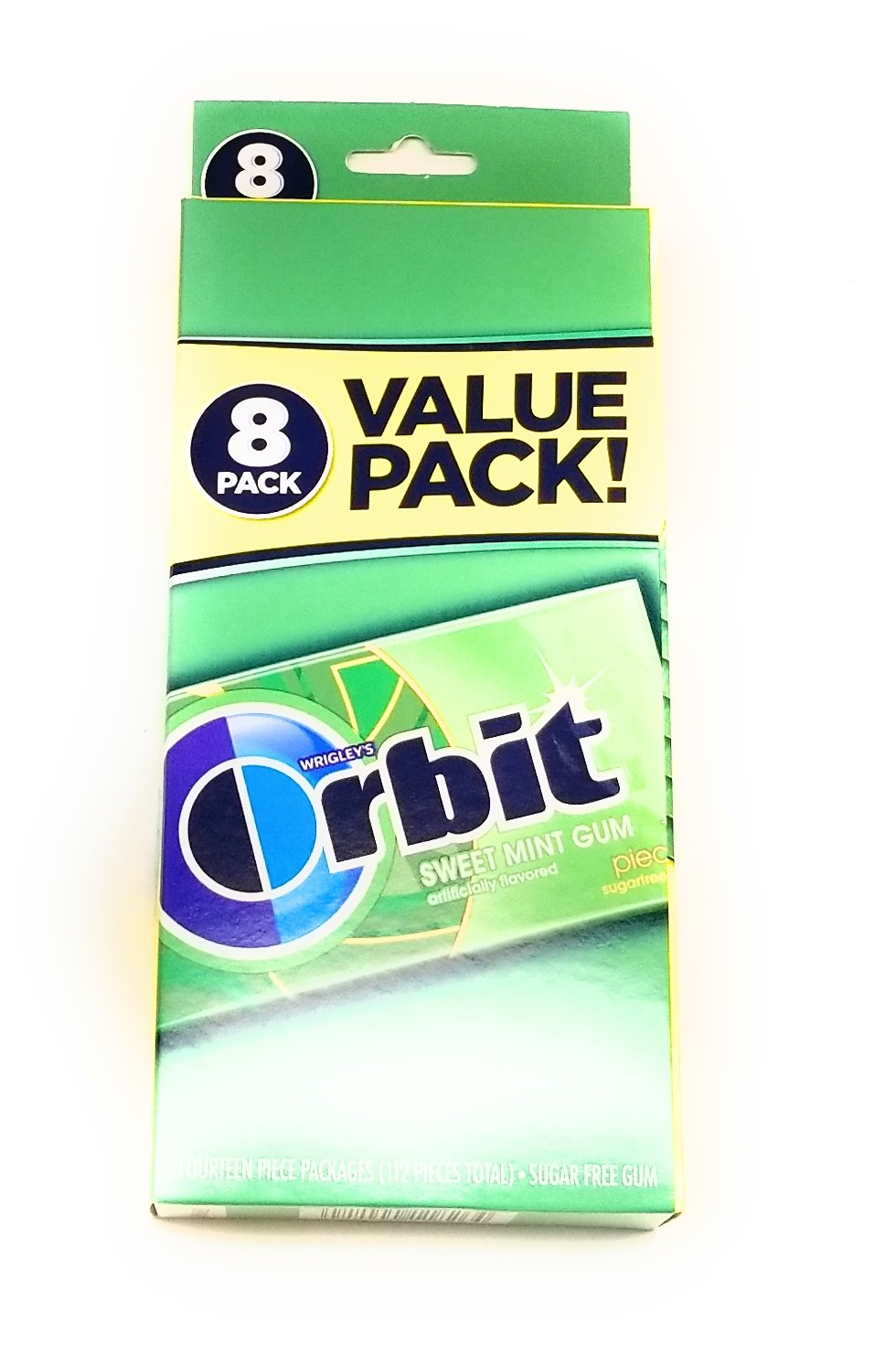 Sugar Free Orbit Gum Value Pack (2 paquetes) (112 pcs. cada ...