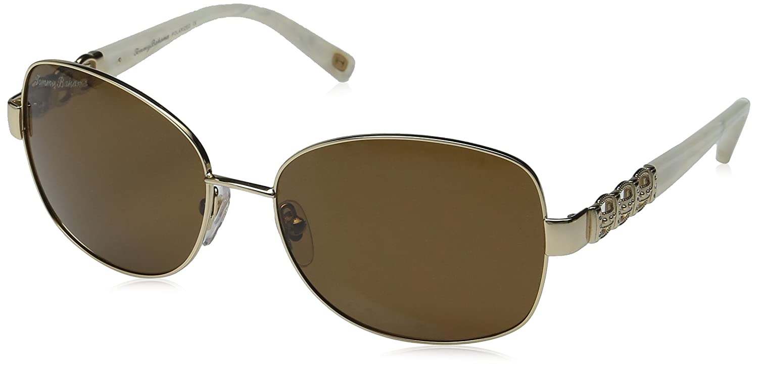 Amazon.com: Tommy Bahama TB7027/717 Sunglasses, Gold: Clothing