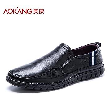Men'S Shoes Men'S Soft-Set Foot Shoes With Low Shoes Men'S Casual Shoes Single Shoes 43 Yellow Brown 173211030