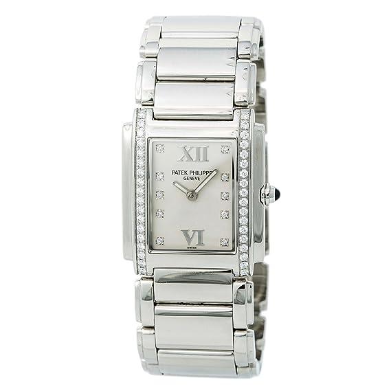 4e192ce2f72 Patek Philippe Twenty-4 Quartz Female Watch 4910/10A-011 (Certified  Pre-Owned): Patek Philippe: Amazon.ca: Watches