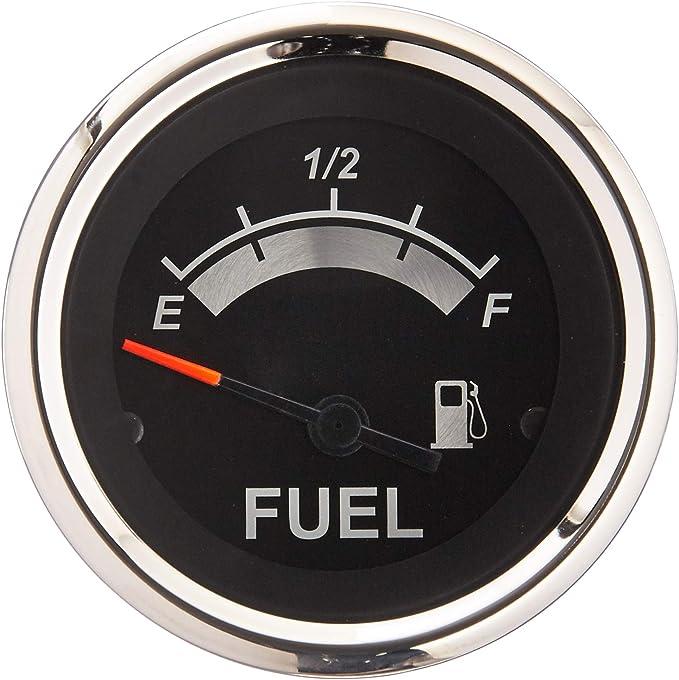 Sierra International 62718P Fuel Gauge Black Premier Pro 2