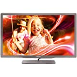 Philips 42PFL7406K/02 107 cm (42 Zoll) Ambilight LED-Backlight-Fernseher  (Full-HD, 400 Hz PMR, DVB-T/-C/-S2, Smart TV) silbergrau