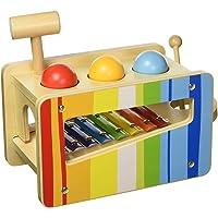 Tooky Toys TKC122Andreu Pound & Tap Bench,, 27.5x 14x 20.5cm
