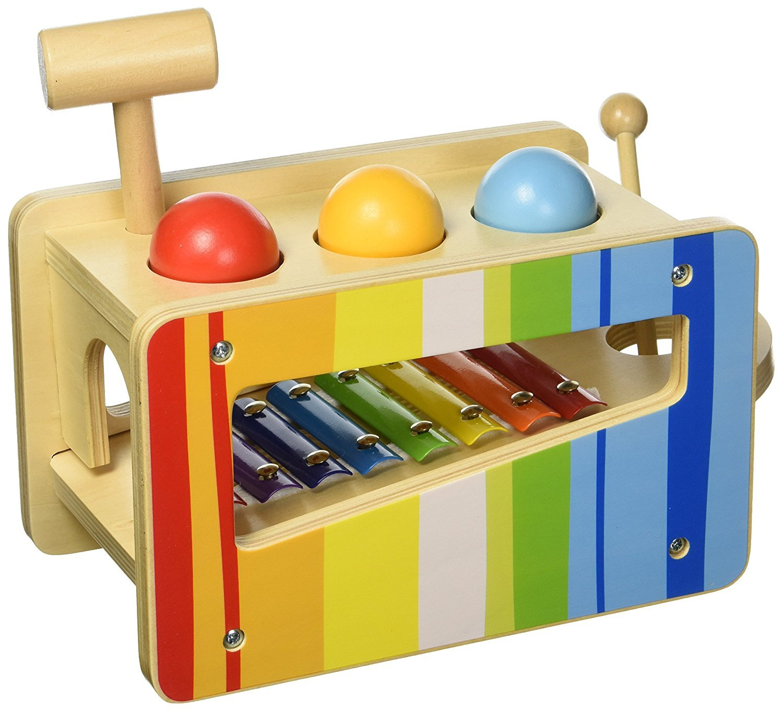 Tooky Toy パウンド&タップベンチ   B072X7M9LC