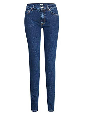 0201ae76f Kenzo Jeans Signature Logo Embroidery Back Pocket Slim FIT: Amazon ...